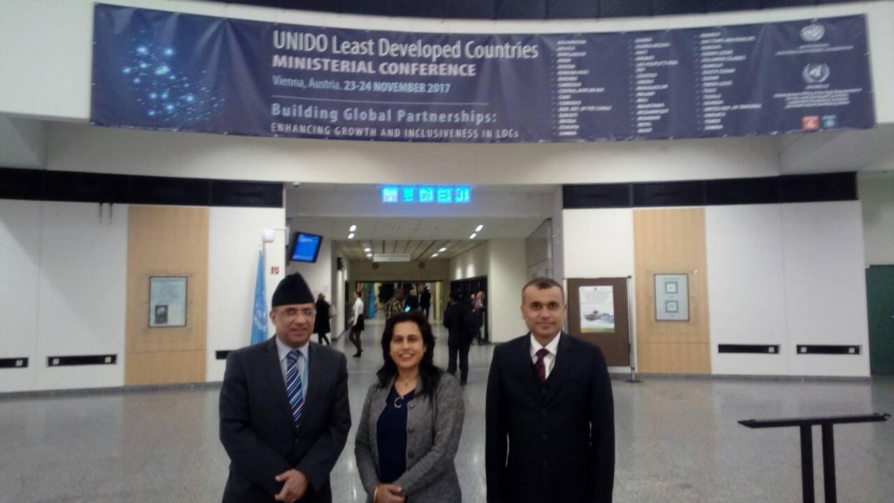 International Seminar in Vienna with Ambassador