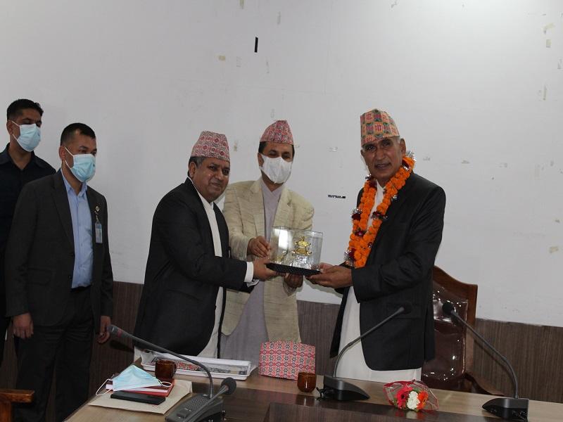 माननीय उपप्रधानमन्त्री तथा उद्योग, वाणिज्य तथा आपूर्ति मन्त्री श्री विष्णु प्रसाद पौडेल ज्युको विदाई कार्यक्रममा लिएका तस्विरहरु।
